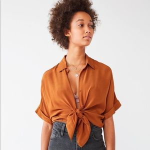 Urban Outfitters Oversized Button Up